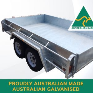 10x6 Australian Galvanised Trailer for Sale in Thomastown - Victoria - Melbourne