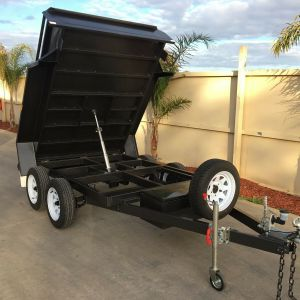 10x6 Tandem Axle Standard Hydraulic Tipper Box Trailer for Sale
