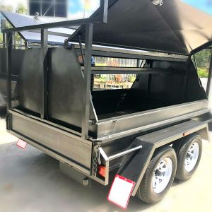12 Inches Sides - tradesman-trailer-tandem-axle-sale-victoria