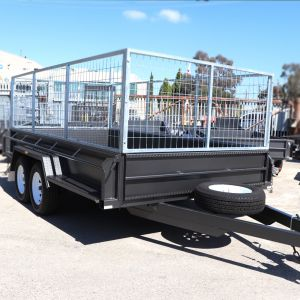 12x6 Heavy Duty Caged Trailer for Sale