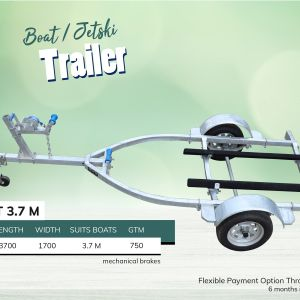 3.7M Boat Jet Ski Trailer for Sale in Melbourne Victoria