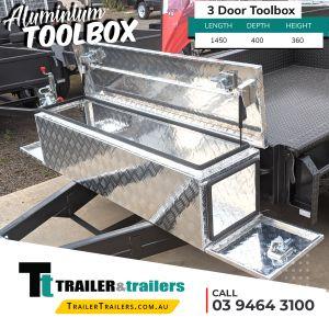 3 Door Aluminium Toolbox for Sale in Melbourne Victoria7