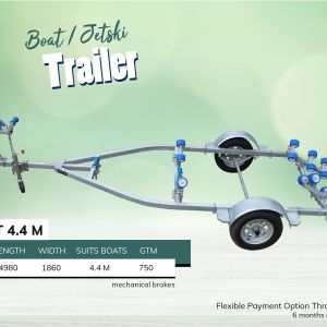 4.4M Boat Jet Ski Trailer for Sale in Melbourne Victoria