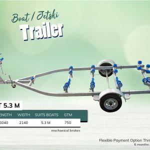 5.3M Boat Jet Ski Trailer for Sale in Melbourne Victoria