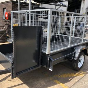 6x4 Basic Single Axle Gardening Trailer for Sale in Victoria