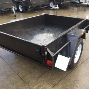 6x4 Domestic Heavy Duty Single Box Trailer Victoria