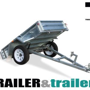 6x4 Galvanised Manual Tipper Trailer for Sale
