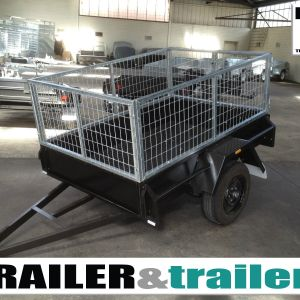 6×4 Single Axle Medium Duty Cage Trailer - 2FT Cage- 750KG GVM for Sale in Melbourne
