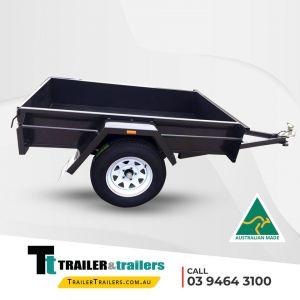 Single Axle Box Trailer for Sale Melbourne
