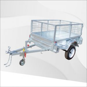 7x4 Galvanised Cage Trailer for Sale Melbourne