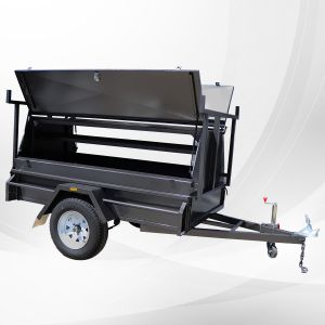 7x4 Commercial Heavy Duty Tradesman Trailer for Sale Melbourne