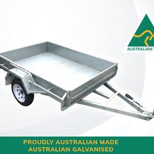 7x5 Single Axle Australian Made & Australian Galvanised Trailer for Sale