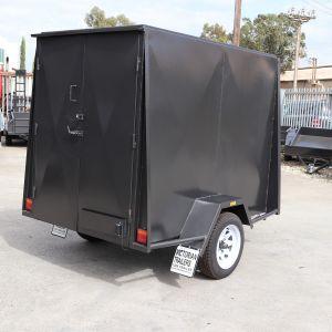 7x5 Fully Enclosed Van Trailer for Sale Melbourne