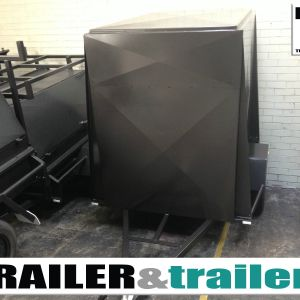 8x5 Single Axle 5 Ft High Van Trailer for Sale