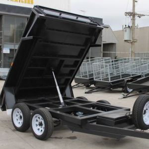 8x5 Tandem Axle Standard Hydraulic Tipper Box Trailer for Sale - 15 inches High Sides - Melbourne Victoria