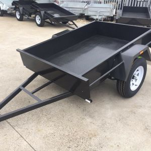 8x5 Single Axle Domestic Heavy Duty | Fixed Front Box Trailer for Sale