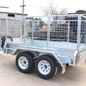 8x5 Tandem Galvanised Cage Trailer for Sale Melbourne