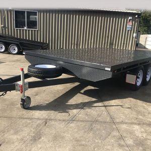 BSpec Flat Top Tandem Trailer for Sale in Victoria
