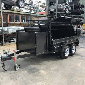 Tandem Tradesman Compressor Box Trailer For Sale Victoria