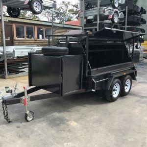 Tandem Tradesman Compressor Box Trailer For Sale Victoria