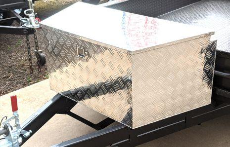 A Shape Aluminium Toolbox