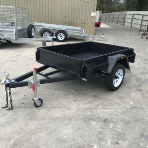 Commercial Heavy Duty Single Box Trailer Sale Victoria