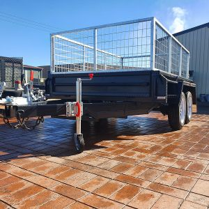 Deluxe Heavy Duty Cage Trailer for Sale in Victoria, Melbourne