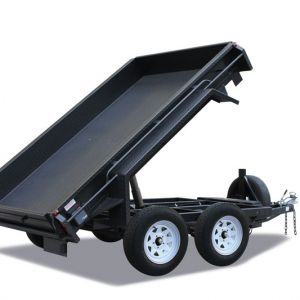 Deluxe Heavy Duty Hydraulic Tandem Tipper Trailer for Sale in Victoria