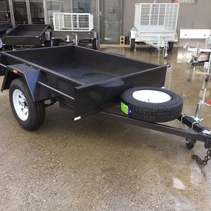 Domestic Heavy Duty Single Box Trailer for Sale in Victoria