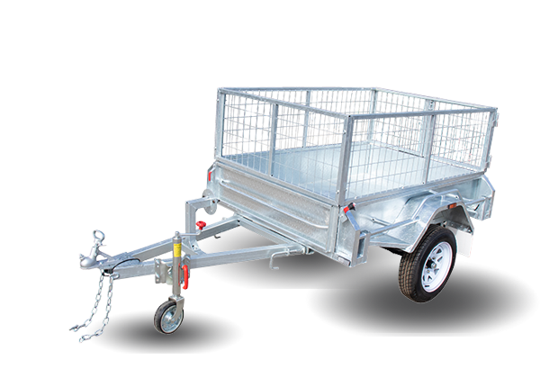 Galvanised Single Axle Cage Trailer for Sale in Melbourne