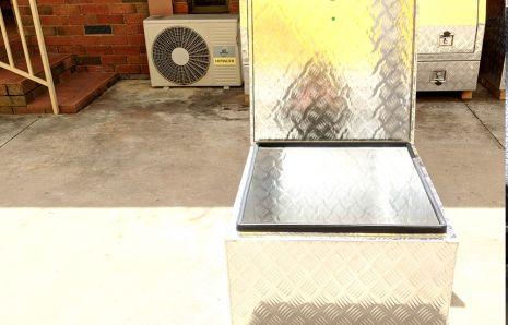 Standard Square Aluminium Toolbox