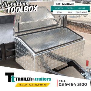 Tilt Aluminium Toolbox Storage for Trailer and Utes in Melbourne Victoria