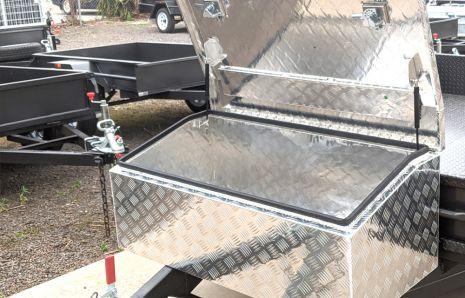 Tilt Box Aluminium Toolbox