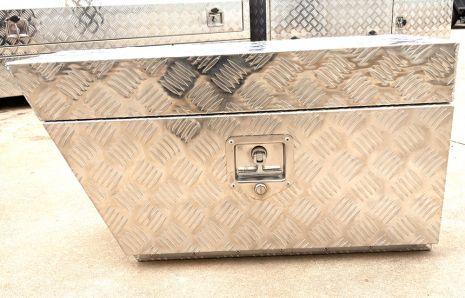 Wheel Buddy Drop Door Pair Aluminium Toolbox